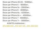 LCD EKRAN  IPHONE 4 5 6 7 7+