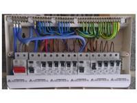 Elektricar menuva tabli povrzuva struja poprava