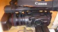 Kamera CANON XH-A1 so hard disk SONY HVR-