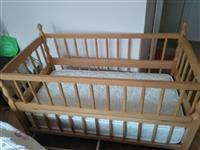Detsko krevetce so dusek Malku koristeno