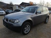 BMW X3 3.0d XDRIVE 218ks 4x4 SERVISIRAN NOV!LIZING