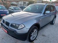BMW X3 2.0D 150ks KOZA -05 AVTO PLAC DIRALA AVTO