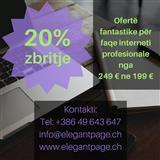 Webfaqe profesionale, 20% zbritje