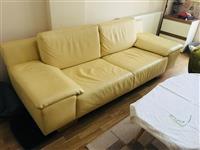 Italijanska kozna sofa