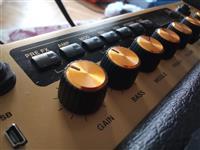 Marshall code25 Yamaha Pacifica i Overdrive pedal