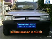 PEUGEOT 205 1.9 DIESEL REGISTRIRAN NOVI GUMI EXTRA