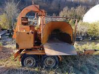 Mobilna Drobilica drobilka za drvo