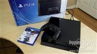 PS4 i kontroleri vo odlicna sostojba