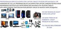 SERVIS KOMPUTERI LAPTOPI WINDOWS:XP,7,8,10NA POVIK