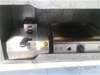 Toster friteza i skara Inox novi so garancija