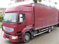Kamion kambe i prikolki