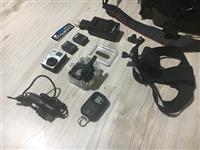 Canon 650D minolta 50mm i Go pro Hero 3