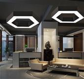 Led lusteri minimalisticki dizajn