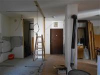 Polovni raboti od stan vo faza na renoviranje