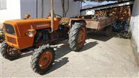 Traktor Fiat 415 so se prikolka
