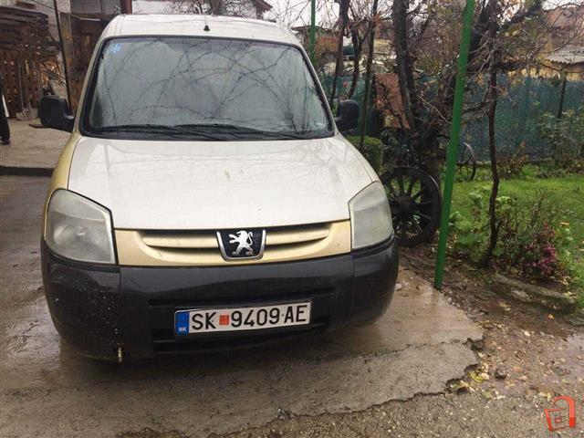 pazar3 mk ad peugeot partner 1 9 03 for sale skopje petrovec rh pazar3 mk Peugeot Partner Tepee Peugeot Partner Tipi
