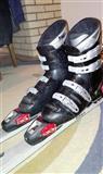 Elan skii so Salomon vezovi i Alpina cevli