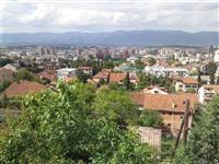 Atraktiven plac 300m2 prekrasen pogled na Skopje