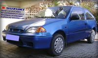 SUZUKI SWIFT 1.0 -01 REGISTRIRAN