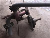 Pumpa za vadenje so traktor