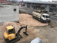 Izvedba na gradezni raboti i iskop