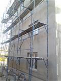 Skele za fasadi i podopiraci potpori podupiraci