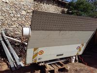 Platforma termo king furgun korpi cilindri creva