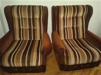 Garnitura trosed+dve fotelji