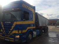 Scania 144 460 Poluprikolka kipper Benalu