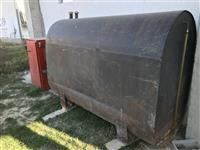 Cisterna i kotel na drva