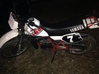 Yamaha Cross Enduro