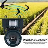Ultrazvucen solaren ured za zastita od ptici i dr