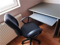 Povolno za kompjuter i stolica