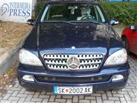 Mercedes ML270 CDI 4x4 so racen menuvac