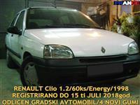 RENAULT CLIO 1.2/98 NOVI GUMI REG DO 15 07 18