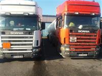 Volvo FH18420 i 3 Skanii R124  vo TOP SOSTOJBA
