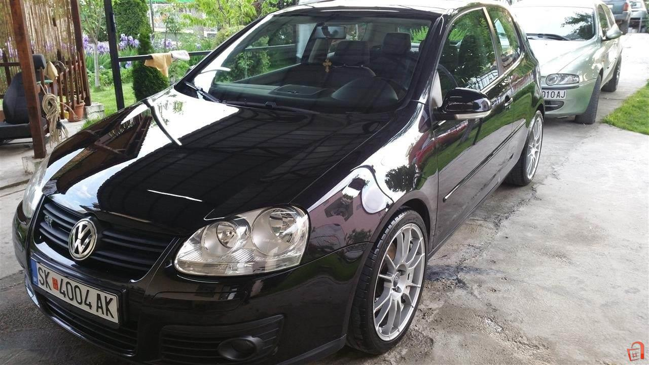 ad vw golf 5 gt 1 4 tsi 170ks 07 for sale skopje aerodrom vehicles automobiles. Black Bedroom Furniture Sets. Home Design Ideas