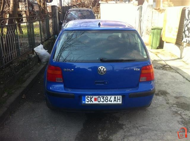 ad vw golf 4 1 9 tdi 99 for sale skopje butel vehicles automobiles vw. Black Bedroom Furniture Sets. Home Design Ideas