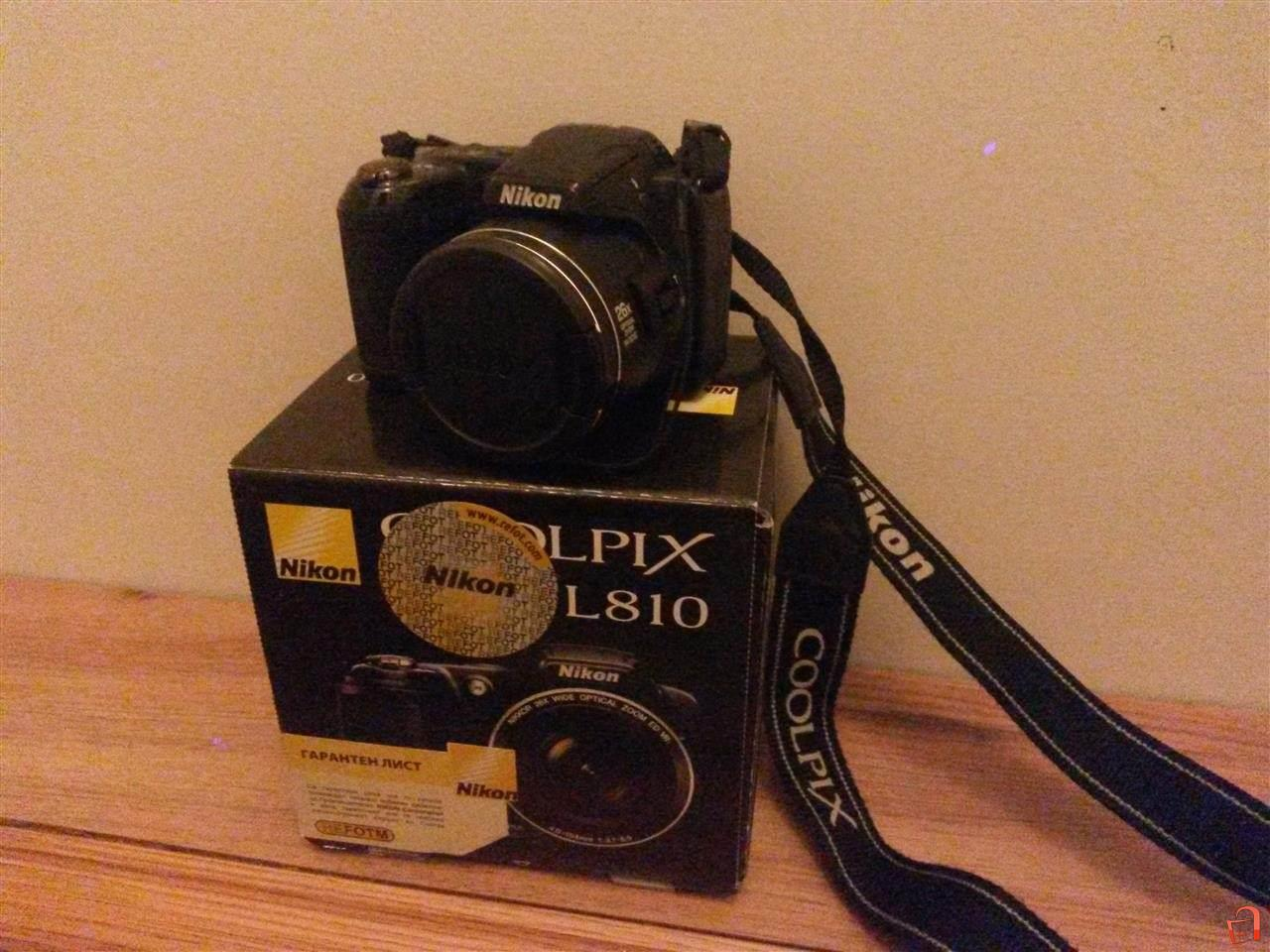 Ad Nikon Coolpix L810 For Sale Skopje Aerodrom Electronics Tv Dvd Satellite And Photography Cameras Accessories