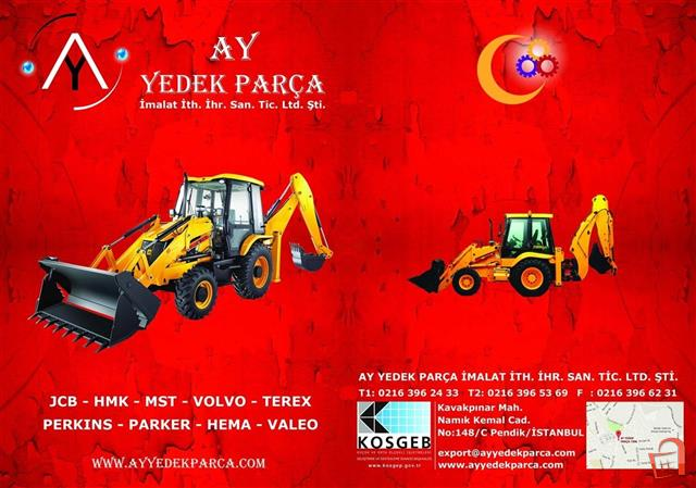 Ad JCB spare parts From Turkey AYYEDEKPARCA for-sale, berovo