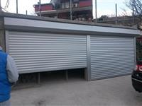 Montaza na aluminski garazni vrati