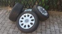 4 felni aluminski so gumi za Audi