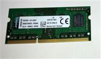 SODIMM Notebook Memory Kingston 4GB CL11 DDR3 1600