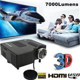 HD LED MINI PROZEKTOR - AV VGA SD USB HDMI