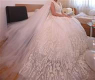 Unikaten  nevestinski fustan