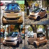 Smart ForTwo 600cc avtomatik benzin
