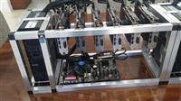 Ethereum mining rig